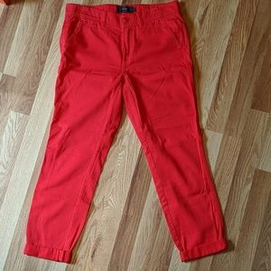 J Crew Chino Ankle Pants